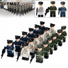 18pcs/lot Ground Forces Corps Policeman Army Honor Marine Ground Forces