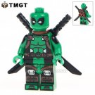 1pcs Armed Deadpool Minifigure fit Lego