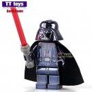 Chrom Darth Vader Star Wars Minifigure fit Lego