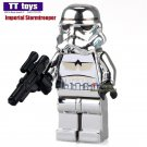 Chrom Imperial Stormtrooper Star Wars Minifigure fit Lego