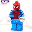 Chrom Spiderman Super Hero  Minifigure fit Lego