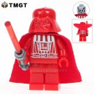 Red Darth Vader The Force Awaken Star Wars Minifigure fit Lego