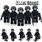 Duty Call Ghost Squad 5PCS Swat Military Fit Lego Minifigure Toys Set