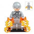 White Lantern Flash Fit Lego Minifigure Toys