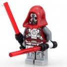 Sith Warrior Old Republic Jedi Defender Star Wars Minifigure fit Lego