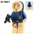 Han Solo with Holster Pattern Parka Hood Star Wars Minifigure fit Lego