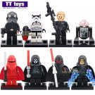 8pcs/lot Darth Nihilus Shadow Troopers Minifigure fit Lego