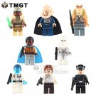 10Lots of 8pcs/lot Han Solo Lando Calrissian Desert Skiff Escape Action
