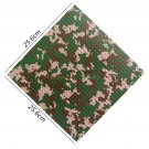 Military SWAT Base Straight Cross 25.6cm Plate Camouflage 32x32 dots