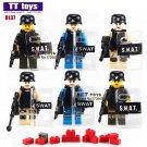 6pcs/lot Fight Force Army Soldiers SWAT Military Mini Dolls