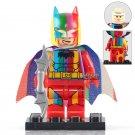300 Pcs Rainbow Batman Custom Made Printed DC Superhero Universe