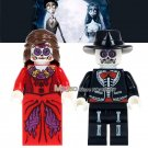 Movie Coco Day of the Dead Holiday WM8001 Woman Skeleton Education