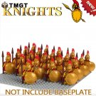 21pcs/lot Medieval Knight Building Blocks Bricks Children