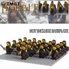 21pcs/lot Medieval Hobbit Building Blocks Bricks Children