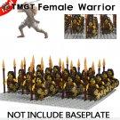 21pcs/lot Medieval Female Warrior Building Blocks Bricks Children
