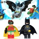 2pcs/lot Superhero  Block Toys Fit Lego