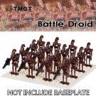 16pcs/lot Battle Droid Action Figure Super Heroes