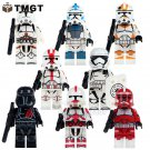 8 pcs/lot PG8097 Clone Trooper Figure Imperial Army Military