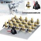 21pcs/lot Darth Vader Clone Trooper Figure Stormtrooper Building