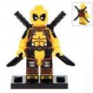 Yellow Deadpool  Minifigure Toys
