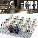 22pcs/lot Stormtrooper Kylo Ren The First Order Officer Mi Fit Lego Minifigures