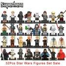32pcs/set Star Wars Infinity War Fit Lego Minifigures
