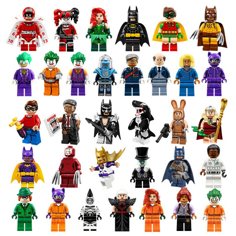 33pcs/lot Super heroes Marvel DC Suicide Squad Harley Quinn Building Blocks