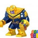 Thanos Chrome Infinity Gauntlet With 6Pcs Power Stones  Fit Lego Minifigure Toys