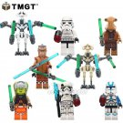 8pcs/lot Star Wars Stormtrooper Sergeant Maz Kannata Snoke Fit lego