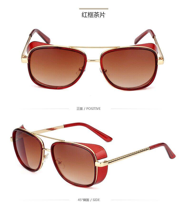 Iron Man TONY STARK Sunglasses Color Lens Robert Downey #07