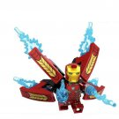 Iron Man Bleeding Edge Iron Suit Lego Toys Infinity War Minifigure