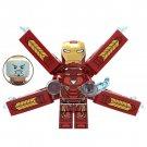 Iron Man Bleeding Edge Armor Lego Toys Infinity War Minifigure