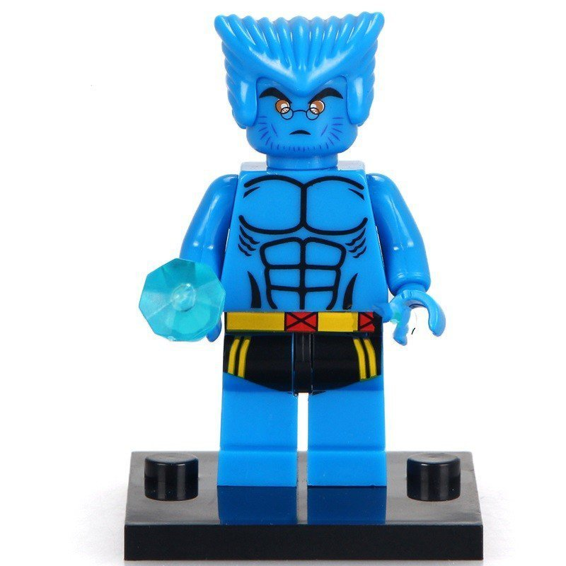 The Beast Lego Toys X-Men Superhero Minifigure