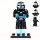 Custom Armored Iron Man Lego Toys Superhero Minifigure