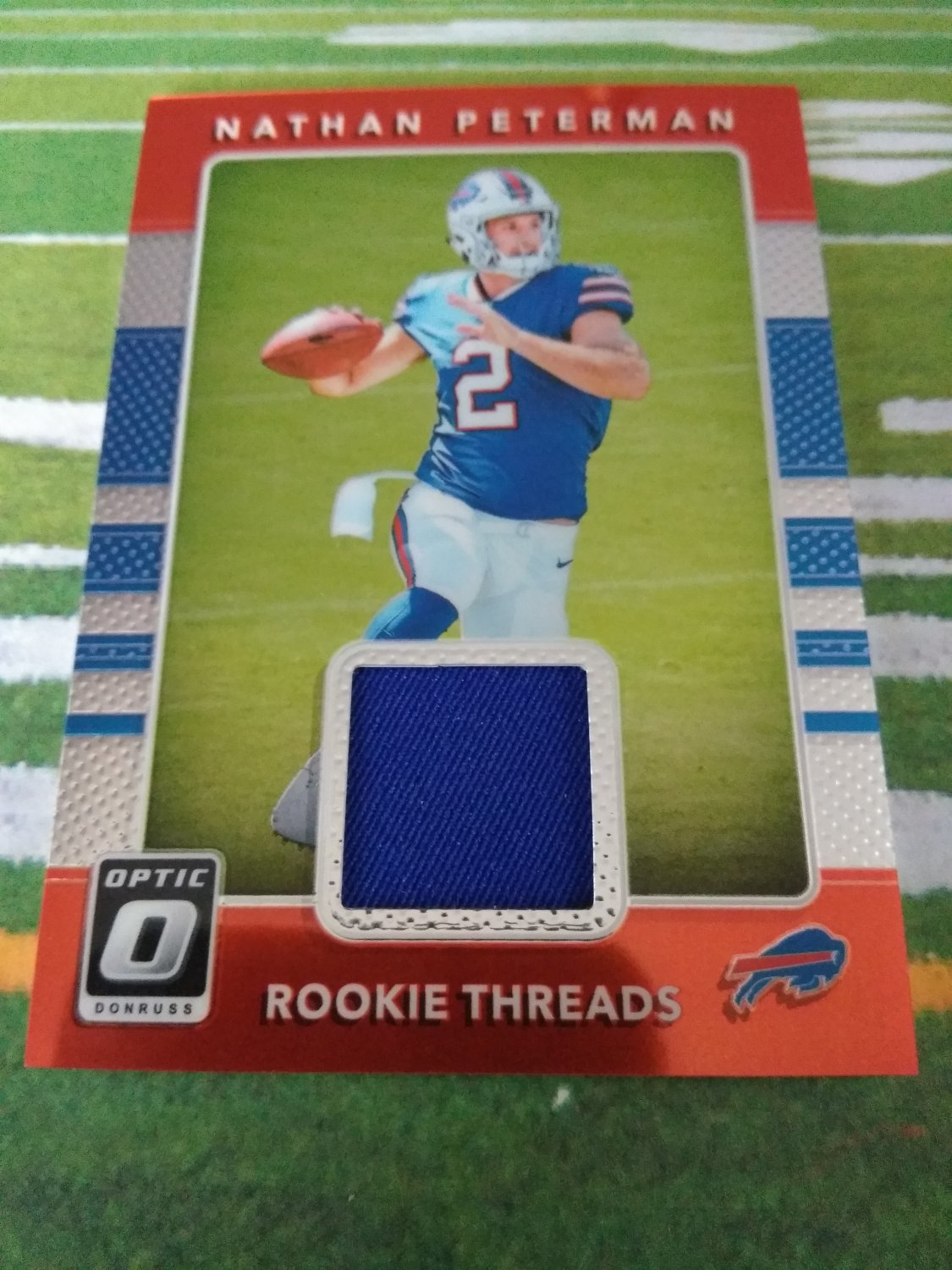 Rookie Threads Nathan Peterman