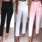 New Women High Waist Pants Women Color Leggings Stretchy Comfortable Clothes Fashion Pencil Pants