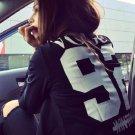 Basic Jackets Fashion Long Sleeve Letter written   VOUGE  Casul Coats
