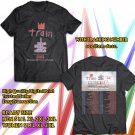 POPULAR TOUR 2019 TRAIN AND THE GOO GOO DOLLS w ALLEN STONE SUMMER 2SIDE BLACK TEE TIWI99 2
