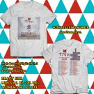 POPULAR TOUR 2019 TRAIN AND THE GOO GOO DOLLS w ALLEN STONE SUMMER 2SIDE WHITE TEE TIWI99 1