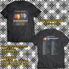 POPULAR TOUR 2019 SHINEDOWN ATTENTION ATTENTION SUMMER 2SIDE BLACK TEE TIWI99 2