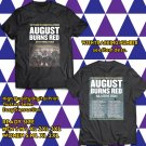 POPULAR TOUR 2019 AUGUST BURNS RED 10 YEARS CONSTELLATIONS 2SIDE BLACK TEE TIWI99 1