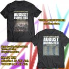 POPULAR TOUR 2019 AUGUST BURNS RED 10 YEARS CONSTELLATIONS WORLD 2SIDE BLACK TEE TIWI99 1