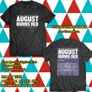 POPULAR TOUR 2019 AUGUST BURNS RED 10 YEARS CONSTELLATIONS AUSTRALIA 2SIDE BLACK TEE TIWI99 1
