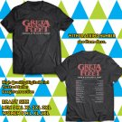 POPULAR TOUR 2019 GRETA VAN FLEET MARCH OF THE PEACEFUL ARMY USA 2SIDE BLACK TEE TIWI99 1