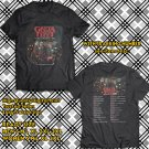 POPULAR TOUR 2019 GRETA VAN FLEET MARCH OF THE PEACEFUL ARMY UK 2SIDE BLACK TEE TIWI99 1