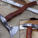 Tomahawk Axe bearded hiking battle axe 14 Inches long Hand Forged Carbon steel