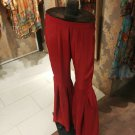 PAKISTANI INDIAN SILK GHARARA TROUSER AVAILABLE IN RED, BLACK & WHITE COLORS