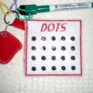 Dots Machine Embroidery Design