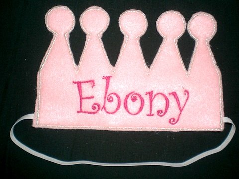 Crown Design Machine Embroidery Design