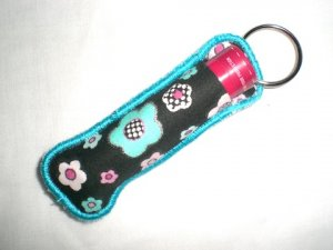 Fabric Chapstick Holder Machine Embroidery Design